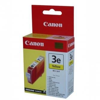 Canon oryginalny wkład atramentowy / tusz BCI3eY. yellow. 280s. 4482A002. Canon BJ-C3000. 6000. 6100. S400. 450. C100. MP700 4482A002