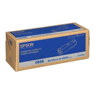 Epson oryginalny toner C13S050698. black. 12000s. Epson Aculaser M400DN C13S050698