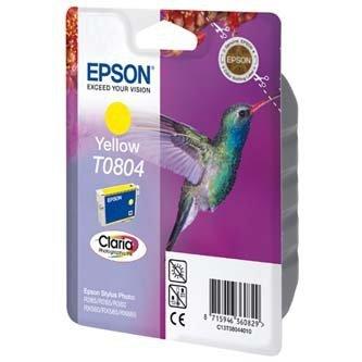 Epson oryginalny wkład atramentowy / tusz C13T08044011. yellow. 7.4ml. Epson Stylus Photo PX700W. 800FW. R265. 285. 360. RX560 C13T08044011