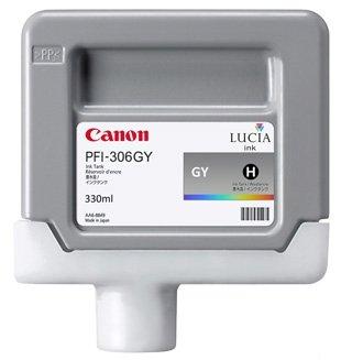 Canon oryginalny wkład atramentowy / tusz PFI306GY. grey. 330ml. 6666B001. ploter iPF-8300. 8400. 9400