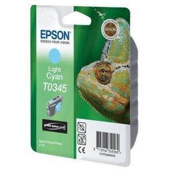 Epson oryginalny wkład atramentowy / tusz C13T034540. light cyan. 440s. 17ml. Epson Stylus Photo 2100 C13T03454010