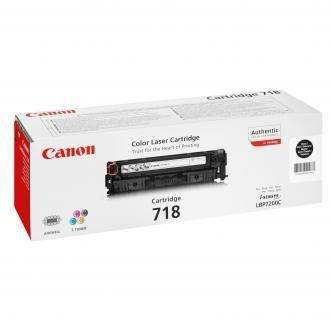 Canon oryginalny toner CRG718. black. 3400s. 2662B002. Canon LBP-7200Cdn 2662B002