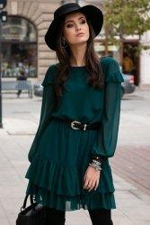 Sukienka 0259 Zielona Roco Fashion