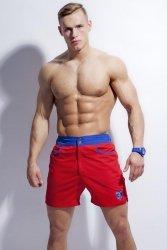 Kostium kąpielowy Alpha Male Surfo red