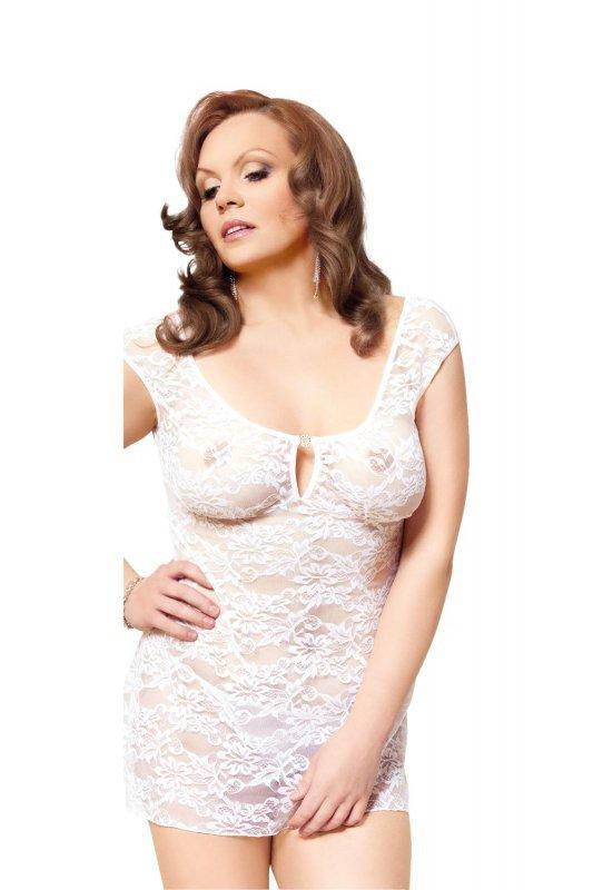 Linley - Plus Size - white 1739 koszulka