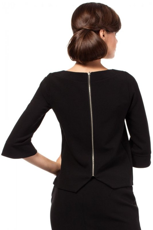 MOE190 bluzka czarna