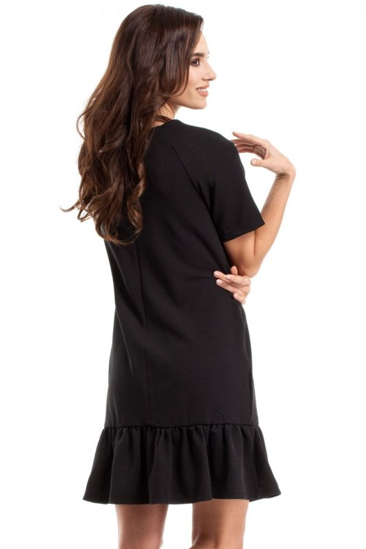 M282 Sukienka czarna