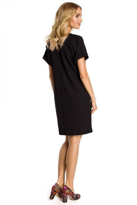 M337 sukienka czarna