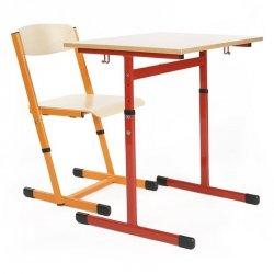 Stół szkolny Antek z regulacją 1-osobowy