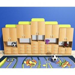 Zestaw szafek przedszkolnych nr 7