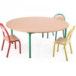 Stolik przedszkolny, Bambino okrągły