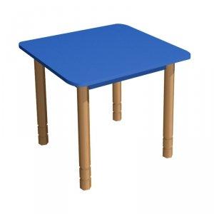 Stolik przedszkolny kwadratowy z regulacją wysokości