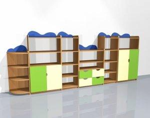 Zestaw szafek przedszkolnych nr 13