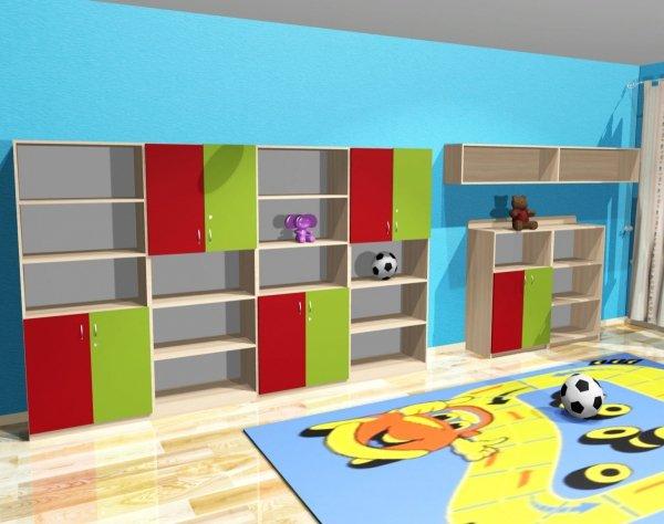 zestaw szafek przedszkolnych, zestaw szafek do przedszkola, zestawy szaf do przedszkola, producent szafek do przedszkola, producent mebli do przedszkola, producent szafek przedszkolnych
