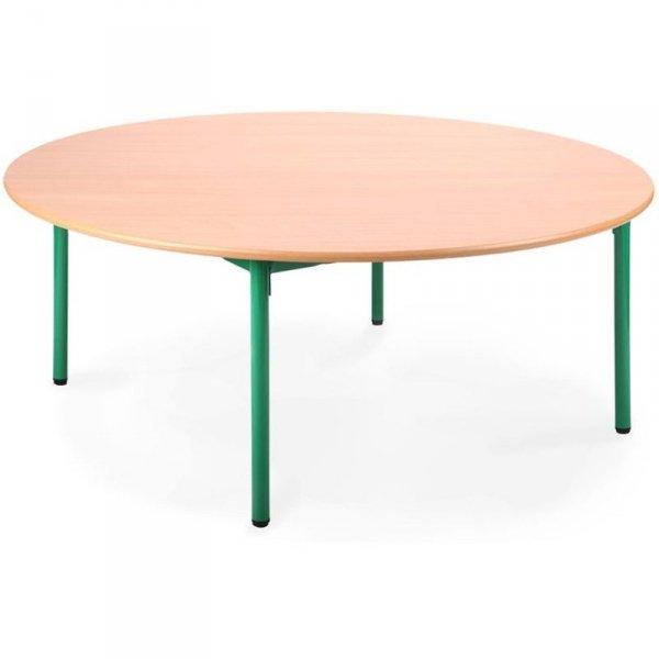 stolik przedszkolny okrągły,stolik do przedszkola,stół przedszkolny,bambino okrągły