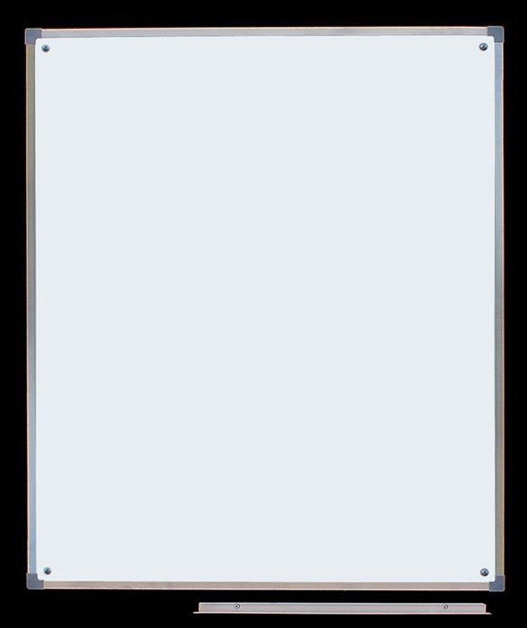 Tablica biała lakierowana 0,85 x 1,00 m