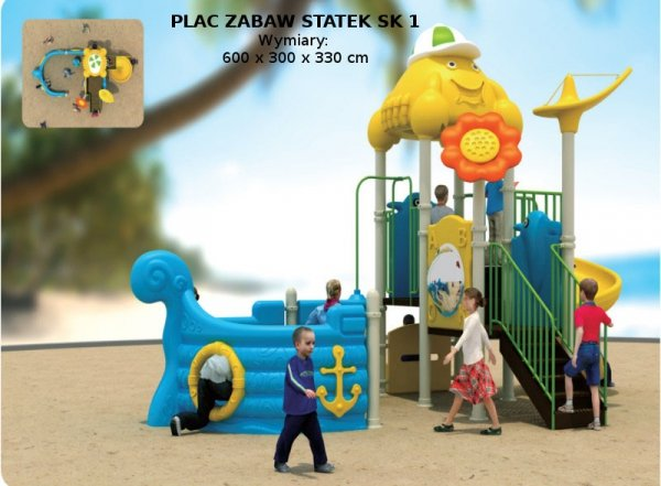 plac zabaw, plac zabaw przedszkolny, plac zabaw statek, plac zabaw plastikowy, plac zabaw do przedszkola