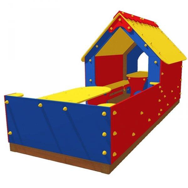 plac zabaw domek, domek dla dzieci, domek na plac zabaw, domek z drewna, domek drewniany, domek drewniany kolorowy, domek dla dziecka, domek z werandą, domek dla dziecka, plac zabaw domki