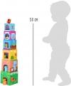 SMALL FOOT Wieża Edukacyjna dla Dzieci - Zwierzęta
