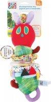SMALL FOOT The Very Hungry Caterpillar Motor Skills Toy with Vibration - wibrująca maskotka edukacyjna (bardzo głodna gąsienica)