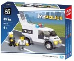 Klocki Blocki MyPolice Auto Policyjne 85 el.