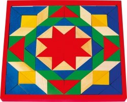 SMALL FOOT Drewniana Mozaika