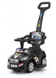 Milly Mally Jeździk 3w1 Pojazd Happy Black (0622, Milly Mally)