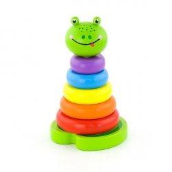 Viga 50258 Piramidka edukacyjna - żabka