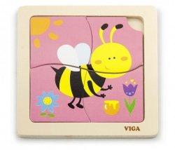 Viga 50138 Puzzle na podkładce - Pszczółka