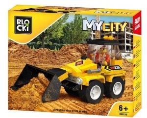 Klocki Blocki MyCity Mini Spychacz
