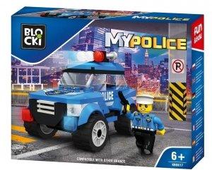 Klocki Blocki MyPolice Radiowóz patrolowy