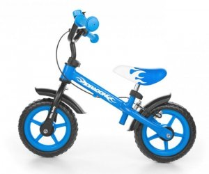 Milly Mally Rowerek biegowy Dragon z hamulcem blue (0158)