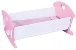 Viga 59511 Kołyska dla lalek pink