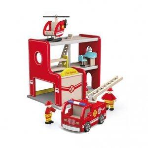 Viga 50828 Remiza strażacka z akcesoriami