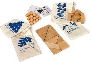SMALL FOOT Dexterity Game - drewniany tangram