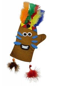 SMALL FOOT Craft Kit Gloves Pirates & Indians - Rękawiczki do ubierania (Piraci i Indianie)