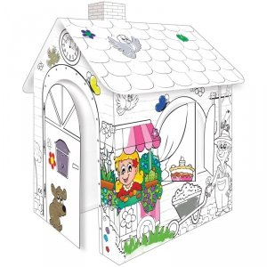 Mochtoys Duży Domek Do Kolorowania Dla Dzieci