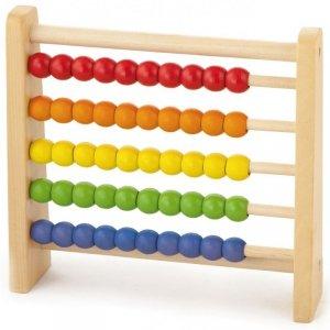 Drewniane Liczydło Edukacyjne Viga Toys Kolorowe