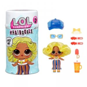 L.O.L. SURPRISE - Laleczka LOL z włosami Hairgoals 2 Makeover