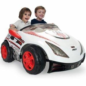 Injusa Elektryczny Samochód Biplaza dwuosobowy dla dzieci 12V