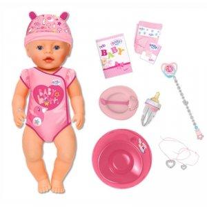 Baby Born Interaktywna lalka Soft Touch 43cm 9 funkcji