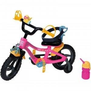 Baby Born Różowy Rowerek dla Lalki 43 cm ze Światłem i Klaksonem