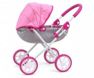 Wózek dla lalek Dori Prestige Pink