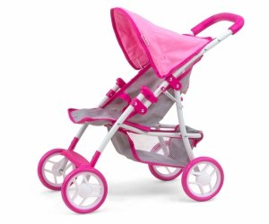 Wózek dla lalek Natalie Prestige Pink