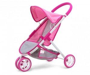 Wózek dla lalek Susie Prestige Pink