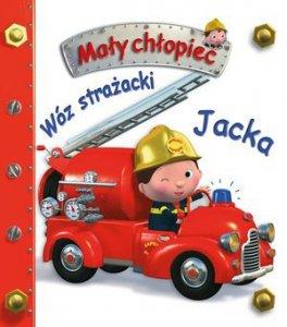 KS1 Mały chłopiec. Wóz strażacki Jacka.