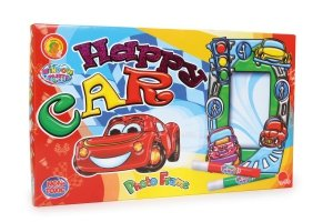 SMALL FOOT Picture Frame Happy Car - Ramka Na Zdjęcia Do Pomalowania (Happy Car)