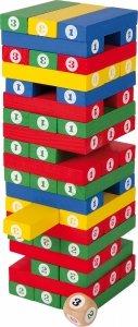 SMALL FOOT Gra Jenga - wieża z klocków