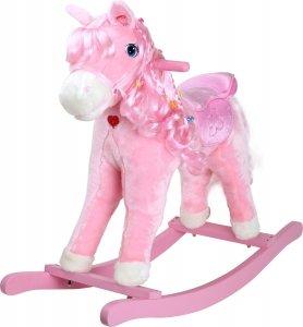 SMALL FOOT Rocking Pony Pinky - konik na biegunach