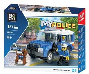 Klocki Blocki MyPolice Auto Więźniarka 127 el.